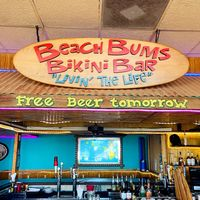 Beach Bums Bar & Grill logo