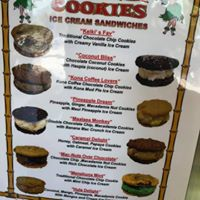 Hula Cookies & Ice Cream logo