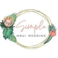 Simple Maui Wedding logo