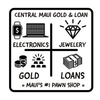Central Maui Gold and Loan logo