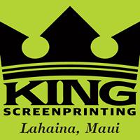 King Screen Printing logo