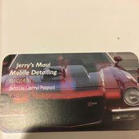 Jerry's Maui Mobile Detailing logo