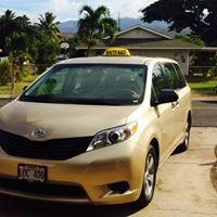 A South Maui Taxi logo