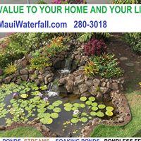 Hawaiian Waterfalls logo