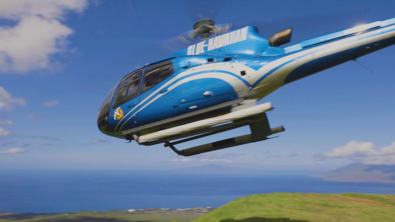 Blue Hawaiian Helicopters logo