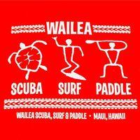 Wailea Scuba, Surf & Paddle logo