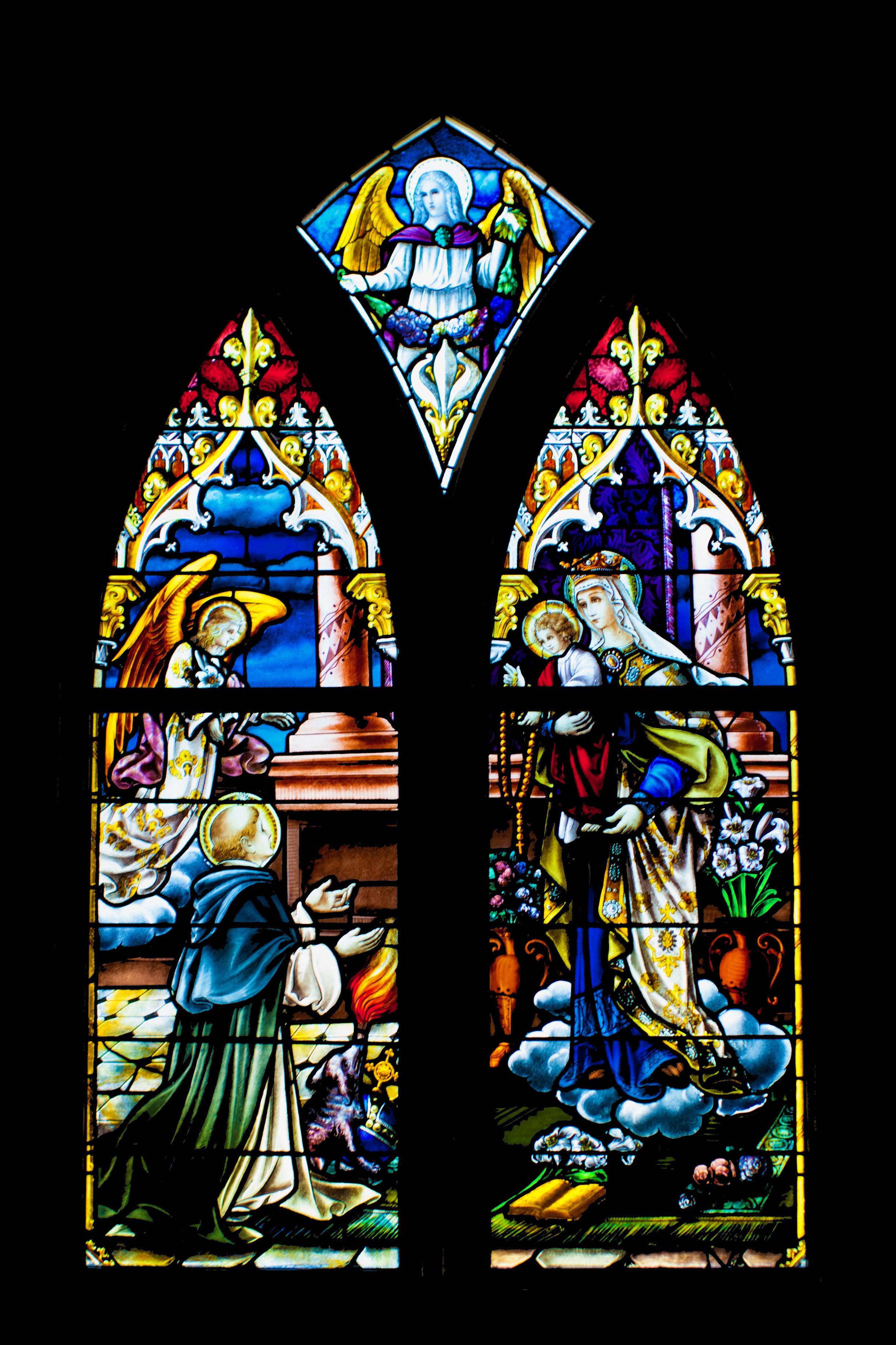 Holy Rosary Church logo
