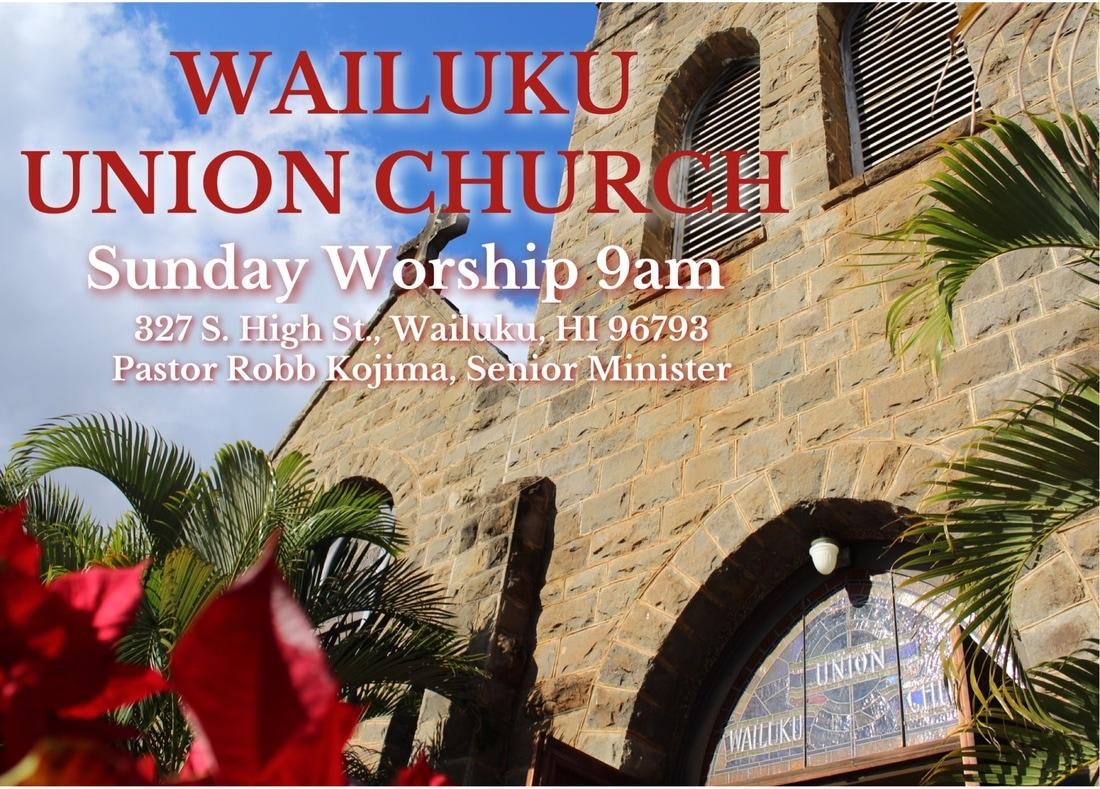 Wailuku Union Church logo