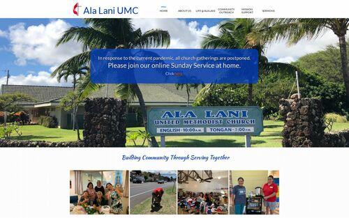 Ala Lani United Methodist Church logo
