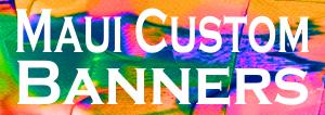 Maui Custom Banners logo
