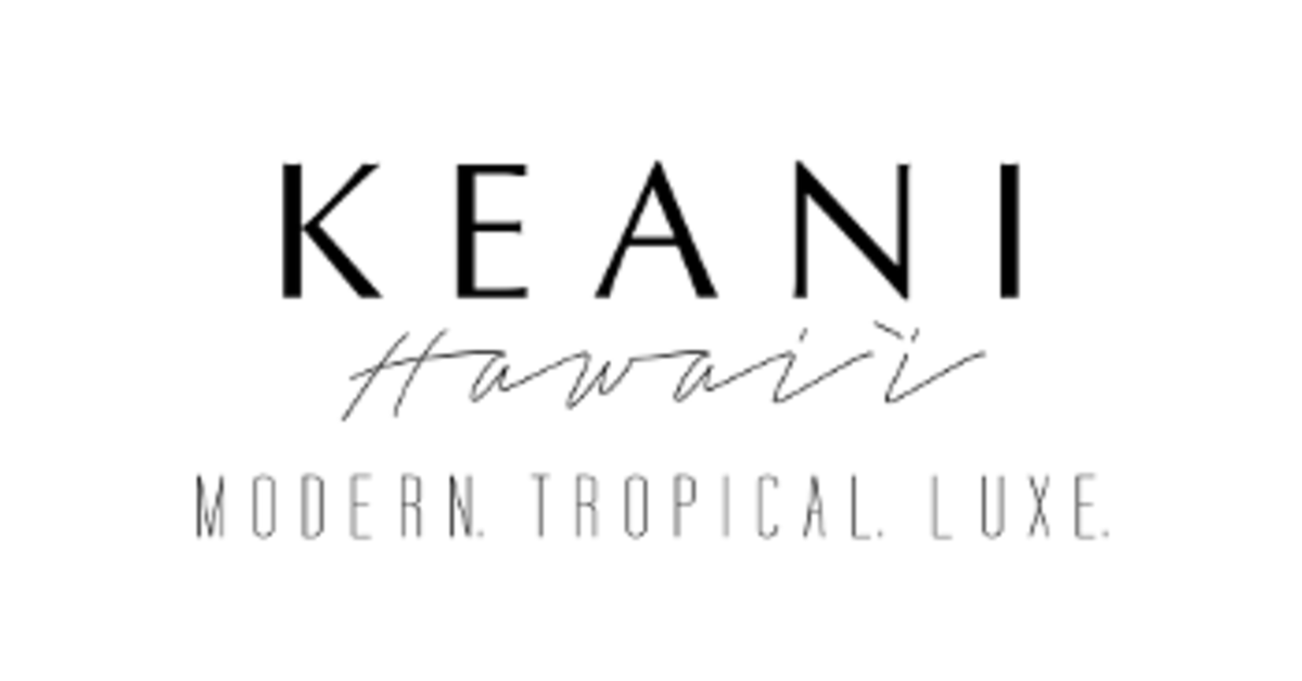 KEANI HAWAII logo