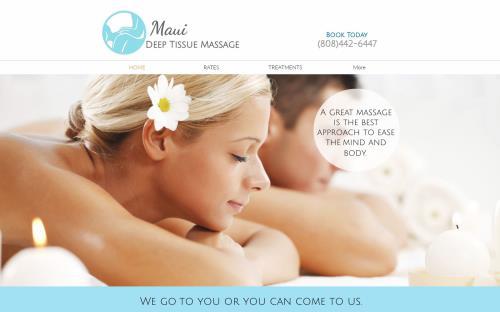 Maui Deep Tissue Massage logo