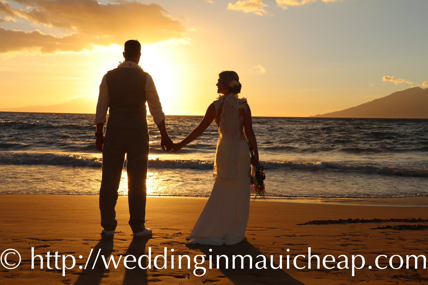 Affordable Barefoot Maui Weddings logo
