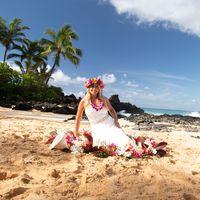 Aloha Maui Flowers logo