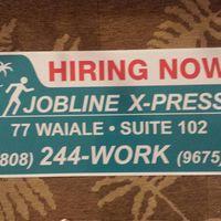 Jobline X-Press logo