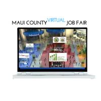 Maui County Virtual Job Fair logo