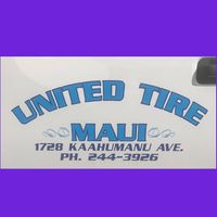 United tire Maui logo