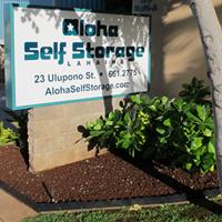 Aloha Self Storage Lahaina logo