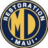 MD Restoration Maui logo