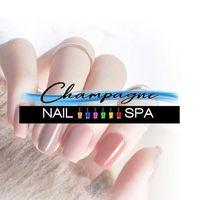 Champagne Nail Spa logo
