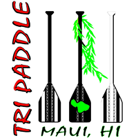 Tri Paddle Maui logo
