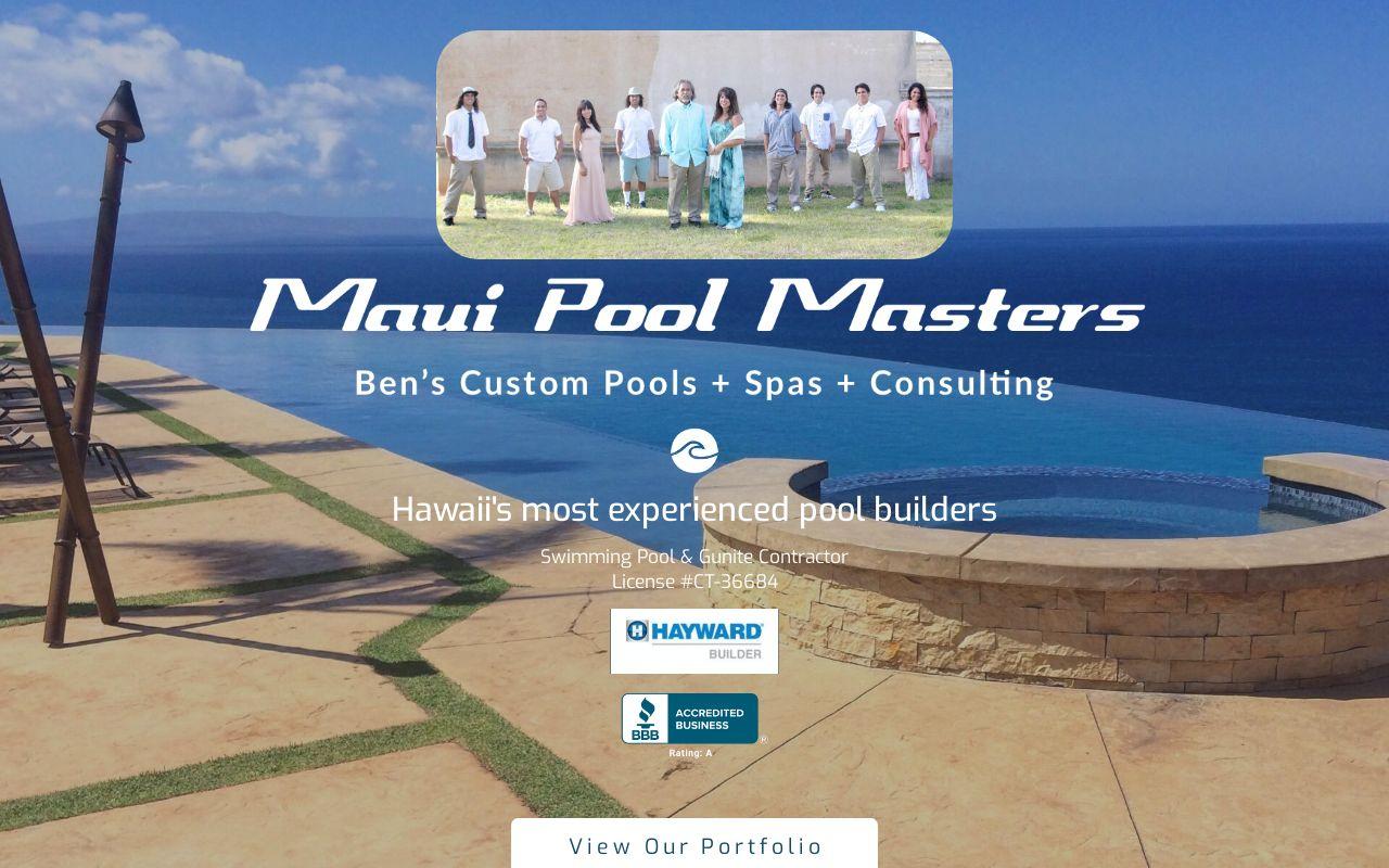 Maui Pool Masters logo
