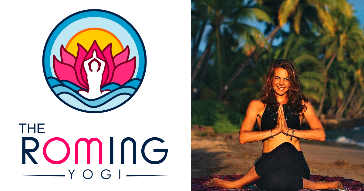 The rOMing Yogi logo