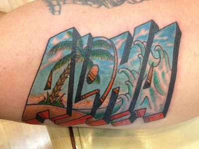Paradise Tattoo logo