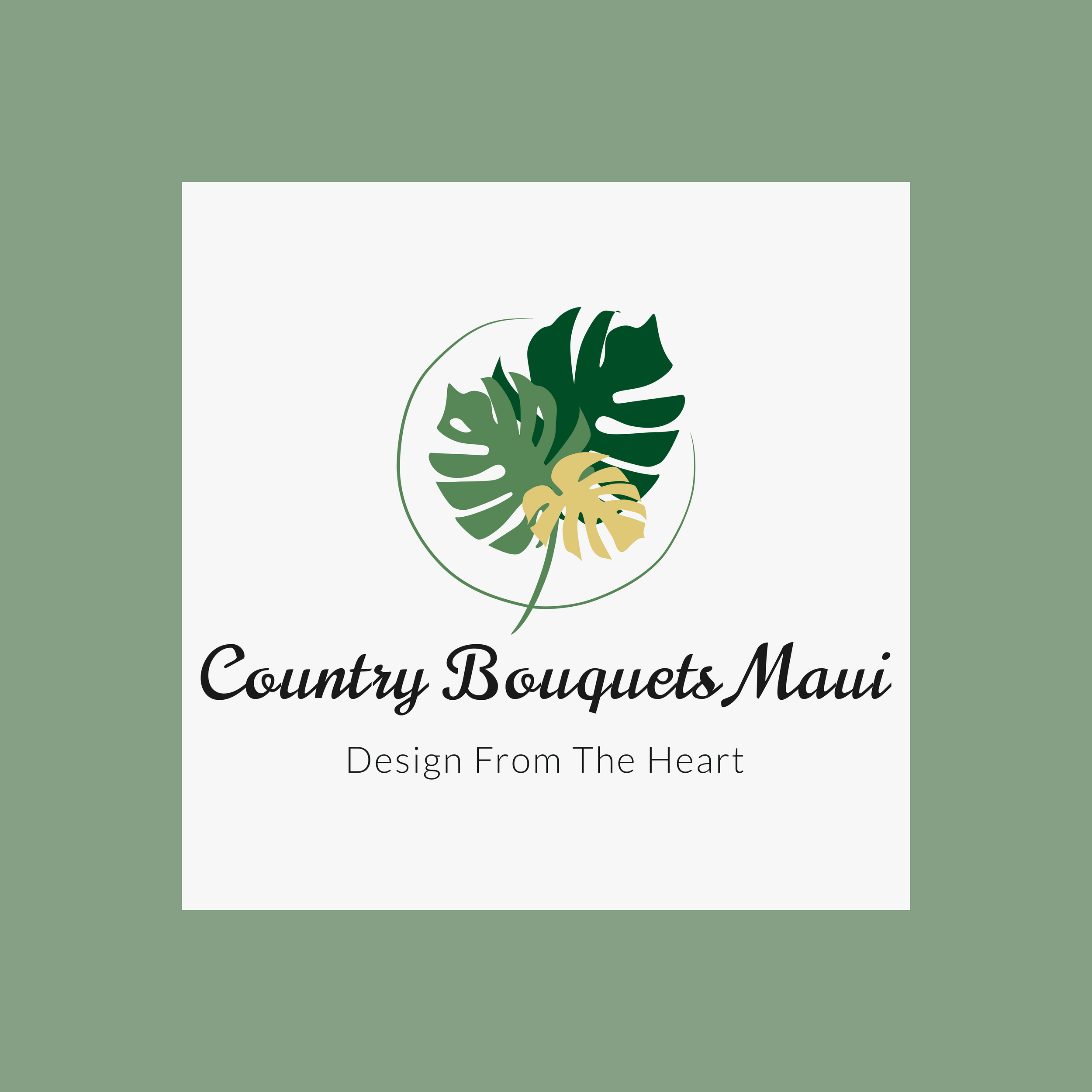 Country Bouquets Maui logo