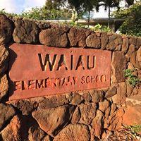 Waiau Elementary School logo