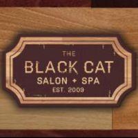 The Black Cat Salon + Spa logo
