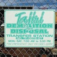 Tajiri Demolition & Disposal LLC logo