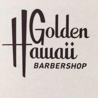 Golden Hawaii Barbershop logo