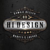 HI Design Barber & Lounge logo