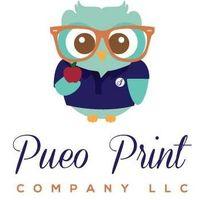 Pueo Print Co logo