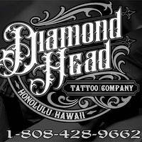 Diamond Head Tattoo Company logo