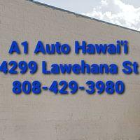 A1 Auto Hawaii logo