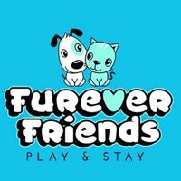 Furever Friends Play & Stay logo