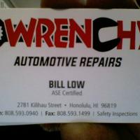 Wrenchy's Automotive Repairs LLC logo