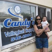 Candy's Volleyball Supply logo