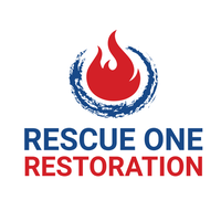 Rescue One Restoration logo