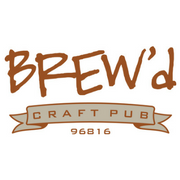 BREW'd craft pub logo
