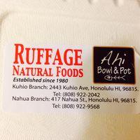 Ruffage Natural Foods logo