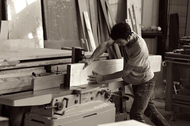 Satoshi Yamauchi Woodworks Custom furniture maker logo