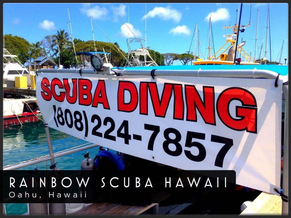 Rainbow Scuba Hawaii logo