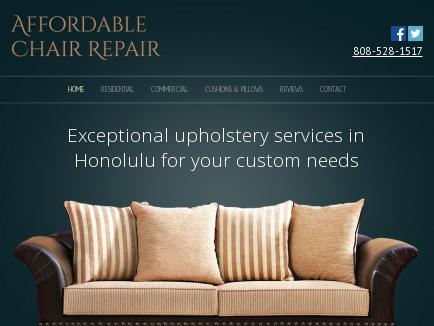 Affordable Chair Repair logo