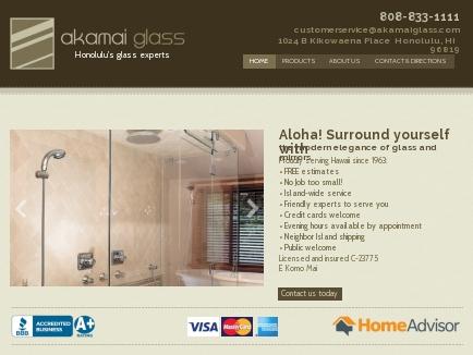 Akamai Glass Company Inc logo