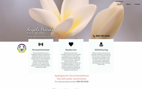Angels Hands Health Care Services logo