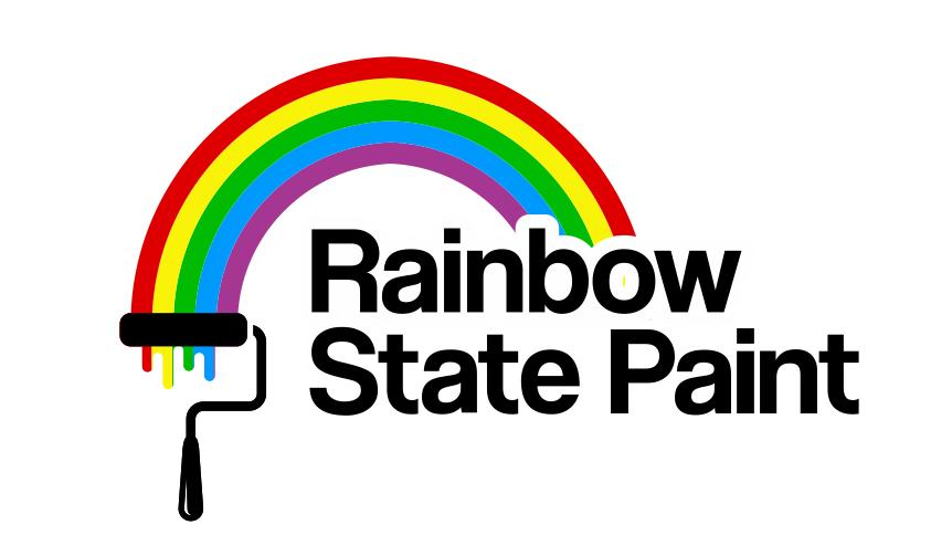 Rainbow State Paint logo