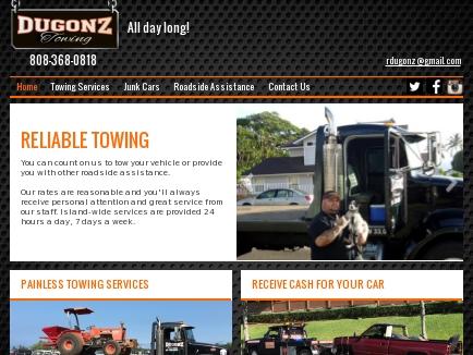 Dugonz Towing logo